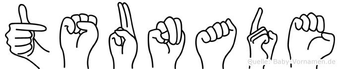 Tsunade in Fingersprache f�r Geh�rlose
