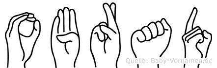 Obrad im Fingeralphabet der Deutschen Gebärdensprache
