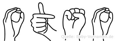 Otso in Fingersprache für Gehörlose