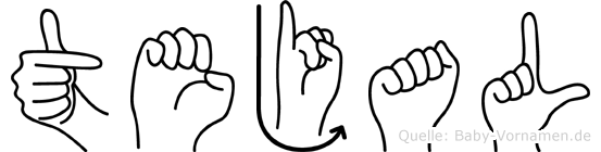 Tejal in Fingersprache für Gehörlose
