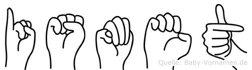 Ismet in Fingersprache für Gehörlose