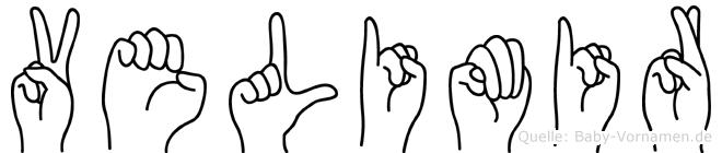 Velimir in Fingersprache für Gehörlose