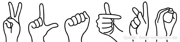 Vlatko in Fingersprache für Gehörlose