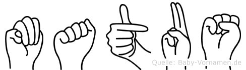 Matus in Fingersprache für Gehörlose