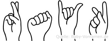 Rayk in Fingersprache für Gehörlose