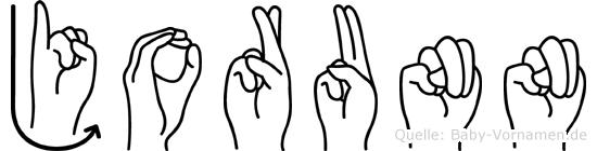 Jorunn in Fingersprache für Gehörlose