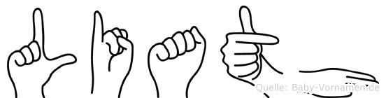 Liath in Fingersprache für Gehörlose
