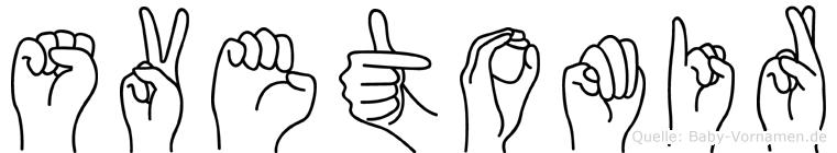 Svetomir im Fingeralphabet der Deutschen Gebärdensprache