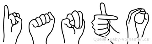 Ianto in Fingersprache für Gehörlose