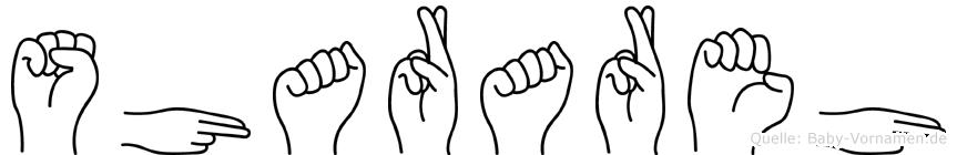 Sharareh in Fingersprache für Gehörlose