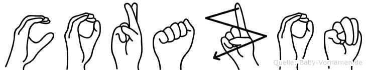 Corazon in Fingersprache für Gehörlose