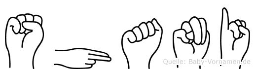 Shani in Fingersprache für Gehörlose