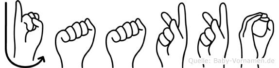 Jaakko in Fingersprache für Gehörlose