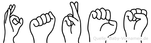 Fares in Fingersprache für Gehörlose