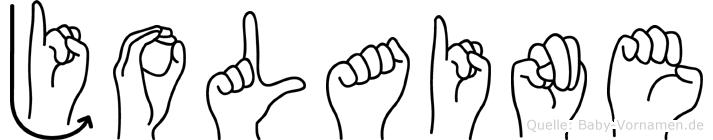 Jolaine in Fingersprache für Gehörlose