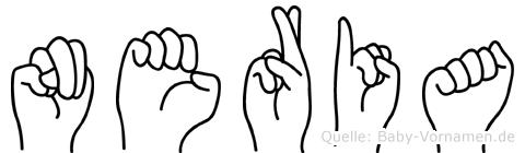 Neria in Fingersprache für Gehörlose