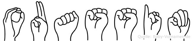 Ouassim im Fingeralphabet der Deutschen Gebärdensprache