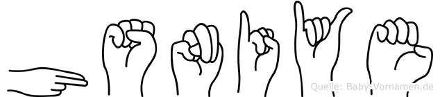 Hüsniye in Fingersprache für Gehörlose