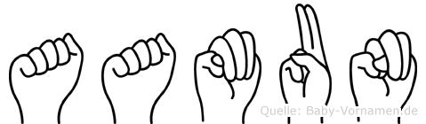 Aamun in Fingersprache für Gehörlose