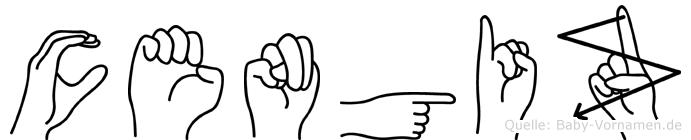 Cengiz in Fingersprache für Gehörlose