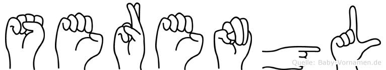 Serengül in Fingersprache für Gehörlose