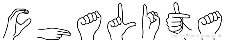 Chalita in Fingersprache für Gehörlose