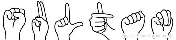 Sultan in Fingersprache für Gehörlose