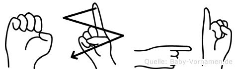 Ezgi in Fingersprache für Gehörlose
