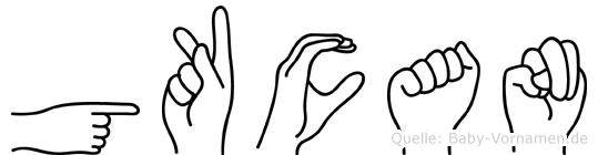 Gökcan in Fingersprache für Gehörlose