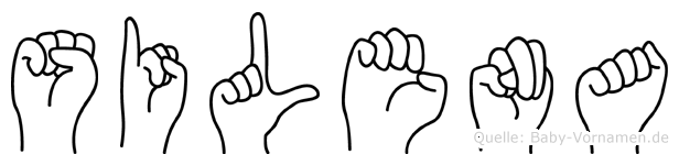 Silena in Fingersprache für Gehörlose