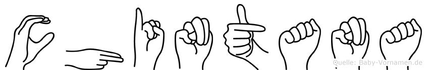 Chintana in Fingersprache für Gehörlose