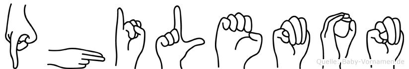 Philemon in Fingersprache für Gehörlose