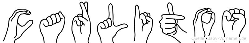 Carlitos im Fingeralphabet der Deutschen Gebärdensprache