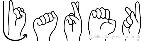 Jarek im Fingeralphabet der Deutschen Gebärdensprache