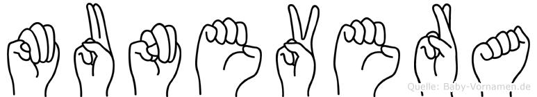 Munevera in Fingersprache für Gehörlose