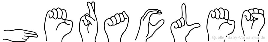 Heracles in Fingersprache für Gehörlose