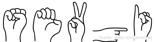 Sevgi in Fingersprache für Gehörlose