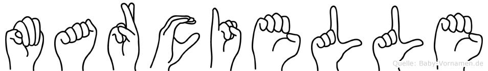 Marcielle in Fingersprache für Gehörlose