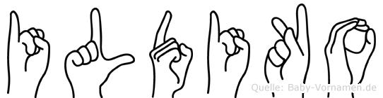 Ildiko in Fingersprache für Gehörlose