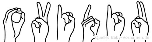 Ovidiu in Fingersprache für Gehörlose