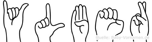 Ylber in Fingersprache für Gehörlose