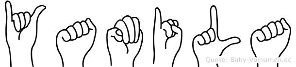 Yamila in Fingersprache für Gehörlose