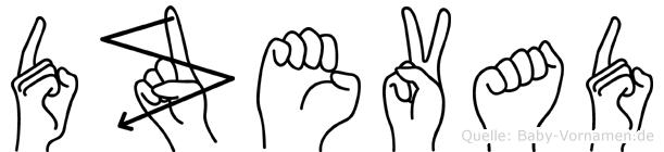Dzevad in Fingersprache für Gehörlose