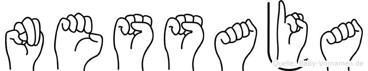 Nessaja in Fingersprache für Gehörlose