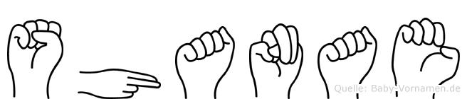 Shanae in Fingersprache für Gehörlose