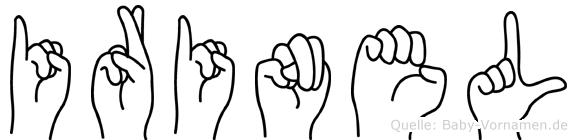 Irinel in Fingersprache für Gehörlose