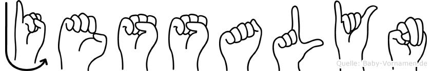 Jessalyn in Fingersprache für Gehörlose