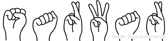 Sarwar in Fingersprache für Gehörlose