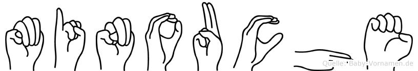 Minouche in Fingersprache für Gehörlose
