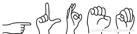 Gülfem in Fingersprache für Gehörlose